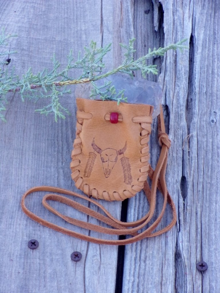 Unique leather pouches for all ages